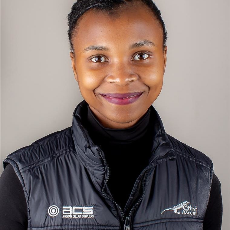 Quality Supervisor  Zenande's sunshine smile makes you forget all your problems. Miss Sunshine winner started 2016 as an intern and is now a quality supervisor. She alongside the Quality Manager oversee production while ensuring that the best quality products are delivered to clients.  She enjoys running, playing netball, reading books and listening to Accappela music.